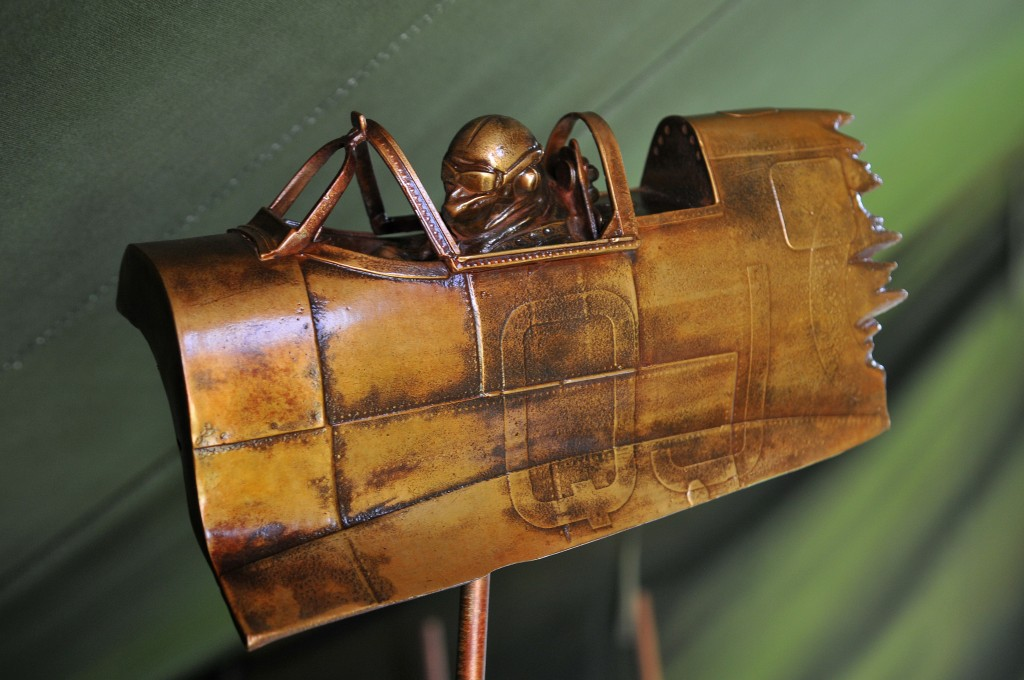 Endeavour Spitfire Geoffrey Wellum DFC Bronze Spitfire Sculpture